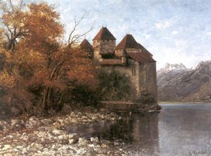 Gustave Courbet - Cháteau de Chillon