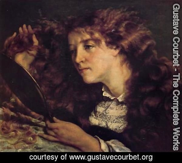 Gustave Courbet - Portrait of Jo, the Beautiful Irish Girl