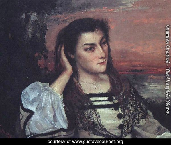 Portrait of Gabrielle Borreau (or The Dreamer)