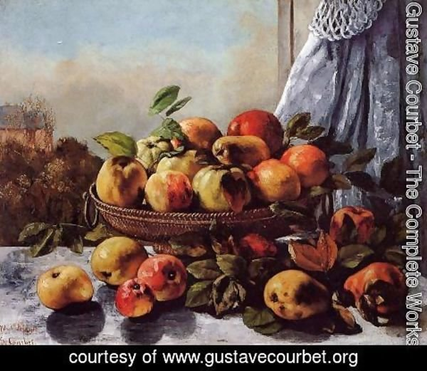 Gustave Courbet - Still Life: Fruit