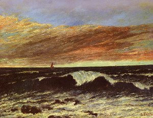 Gustave Courbet - La Vague (The Wave)