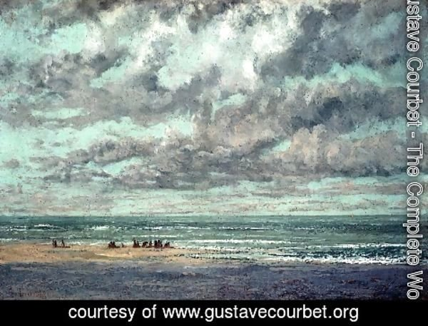 Gustave Courbet - Marine--Les Equilleurs