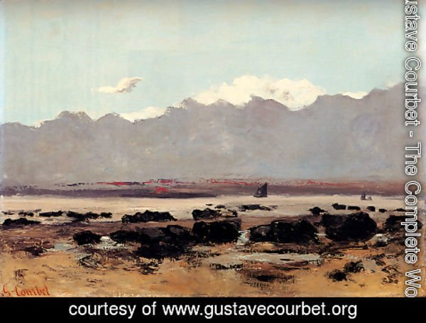 Gustave Courbet - Seascape Near Trouville