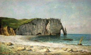 Gustave Courbet - The Sea-Arch at Etretat, 1869