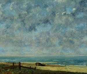 Gustave Courbet - The Sea, c.1872