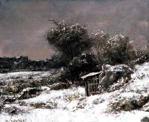 Gustave Courbet - Winter Scene