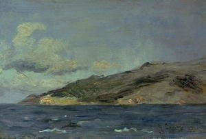 Gustave Courbet - Entrance to the Straits of Gibraltar, 1848