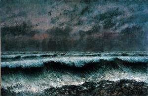 Gustave Courbet - The Wave, 1870