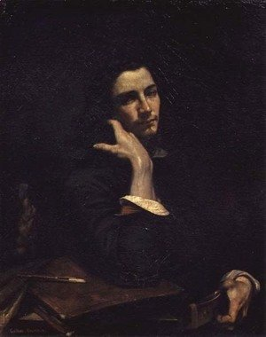 The Man with the Leather Belt. Portrait of the Artist, c.1846