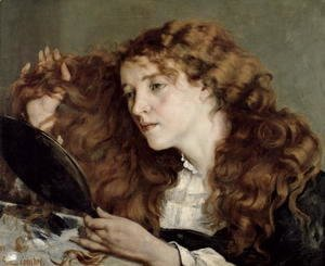 Gustave Courbet - Jo, the Beautiful Irish Girl, 1866