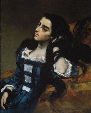 Gustave Courbet - A Spanish Woman, 1855