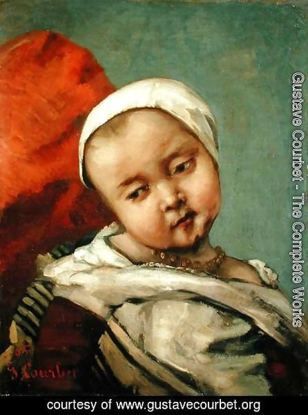 Head of a Baby, 1865