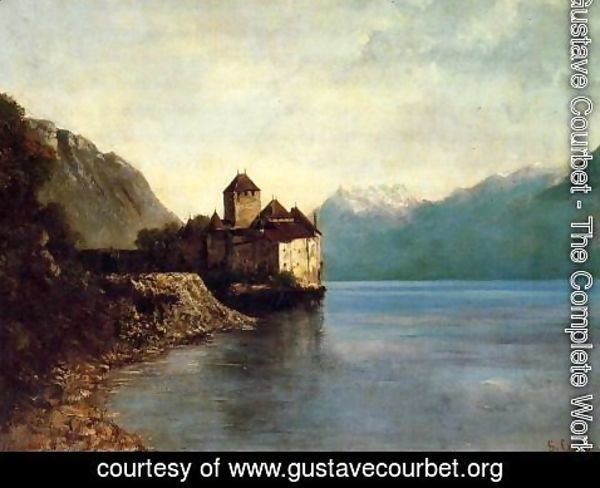 Gustave Courbet - Chateau de Chillon, 1874