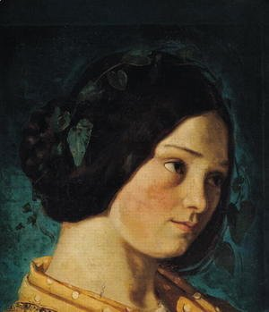 Portrait of Zelie Courbet, c.1842