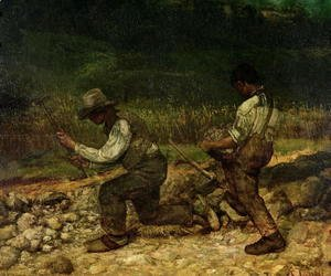 Gustave Courbet - The Stonebreakers 2
