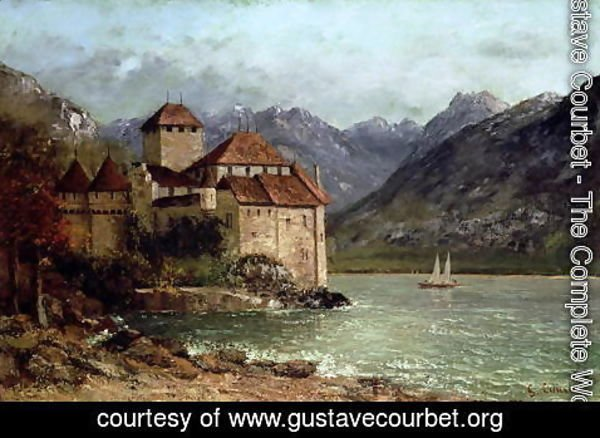 Gustave Courbet - The Chateau de Chillon, 1875