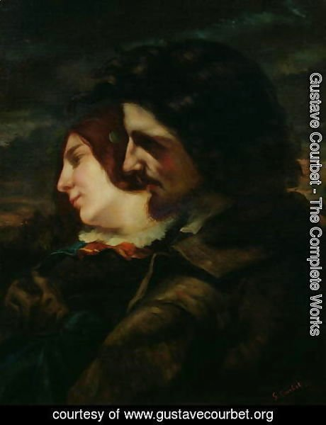 Gustave Courbet - The Lovers in the Countryside, after 1844