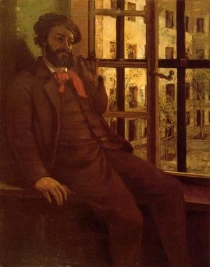 Self Portrait at Sainte-Pelagie, 1871