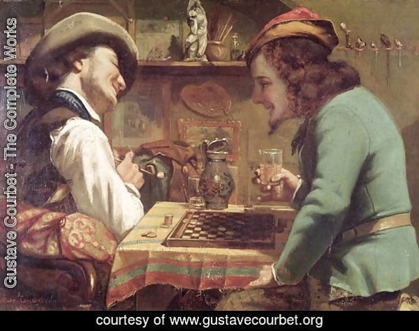 The Game of Draughts, 1844