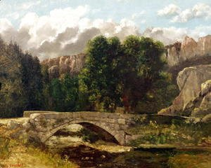 Gustave Courbet - The Pont de Fleurie, Switzerland, 1873