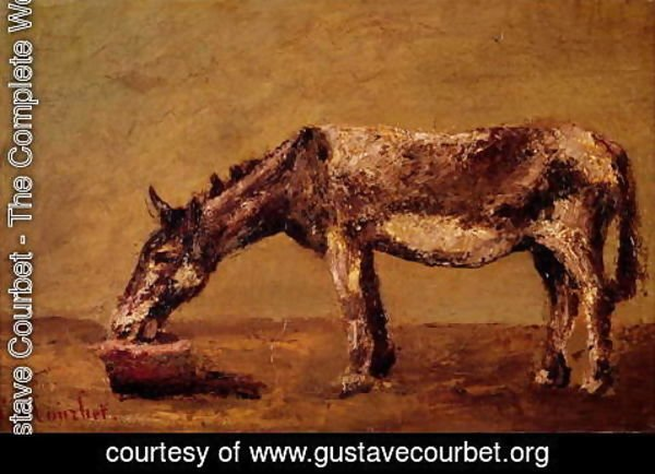 Gustave Courbet - The Donkey