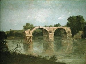 Gustave Courbet - The Bridge at Ambrussum