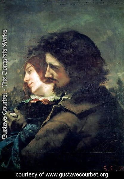 Gustave Courbet - The Happy Lovers, 1844