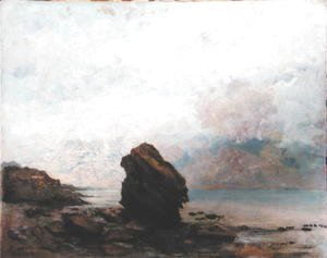 Gustave Courbet - The Isolated Rock, c.1862