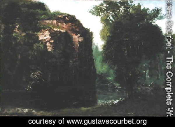 Gustave Courbet - The Silent River, 1868