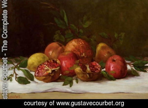 Gustave Courbet - Still Life, c.1871-72