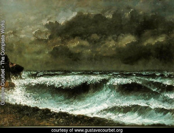 Squall on the Horizon, c.1872