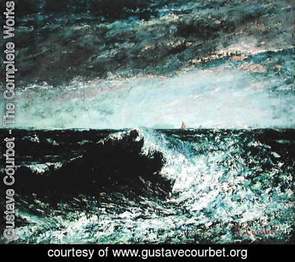 Gustave Courbet - The Wave 6