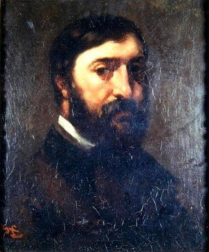 Gustave Courbet - Portrait of Urbain Cuenot (b.1820) 1846