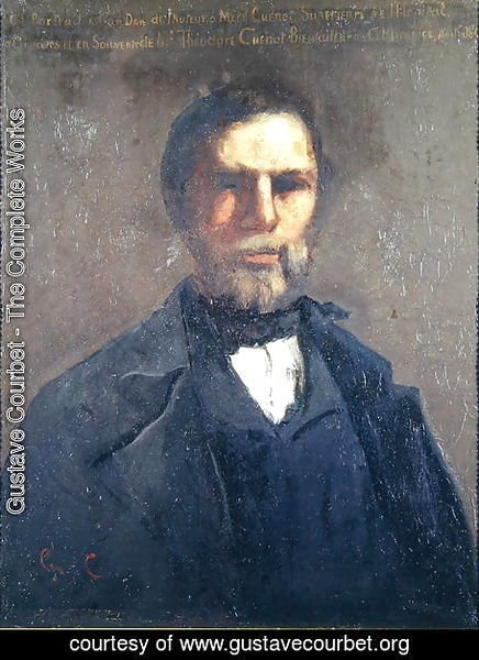Portrait of Theodore Cuenot, 1847