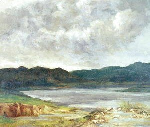The Black Lake, 1872