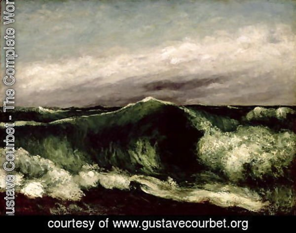 Gustave Courbet - The Wave, 1869