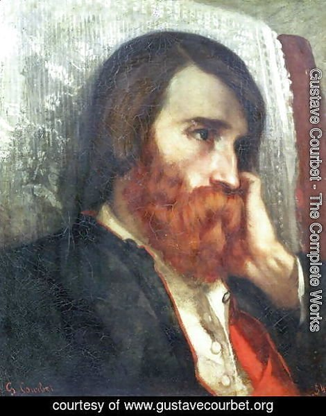 Gustave Courbet - Portrait of Alfred Bruyas