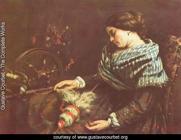 The Sleeping Embroiderer, 1853