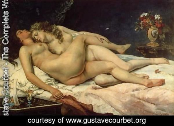 Gustave Courbet - Le Sommeil, 1866