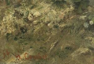 Gustave Courbet - The Meeting or Bonjour M. Courbet (detail)