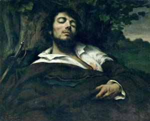 Gustave Courbet - The Wounded Man