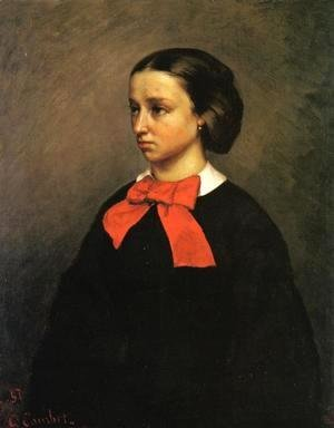 Gustave Courbet - Portrait of Madame Jacquet