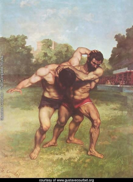 The Wrestlers, 1853