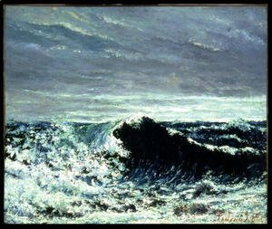 Gustave Courbet - The Wave, c.1871