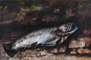 Gustave Courbet - The Trout, 1873