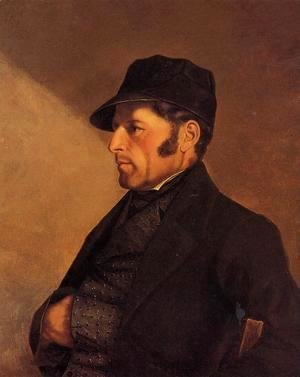Portrait of the Artist's Father, Regis Courbet