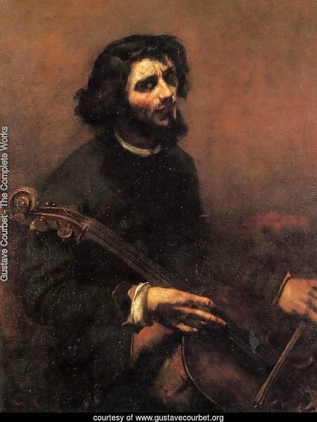The Cellist, Self Portrait