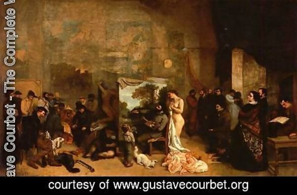 Gustave Courbet - My Atelier