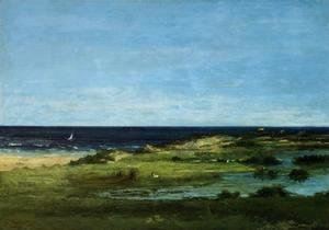 Gustave Courbet - Seacoast