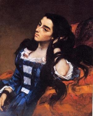 Gustave Courbet - Portrait of a Spanish Lady
